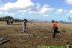 Preparativos Caravana de la Paz Radio Pampa - La Cruz 30 enero 2011