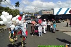 Recorrido de la Caravana por La Cruz, Guanacaste