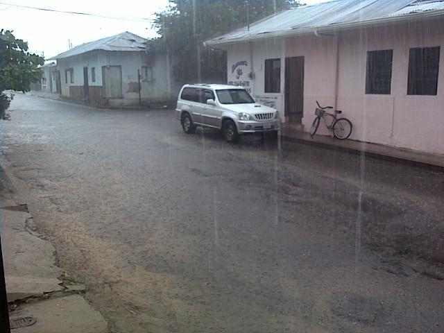 AGUACERO EN LIBERIA