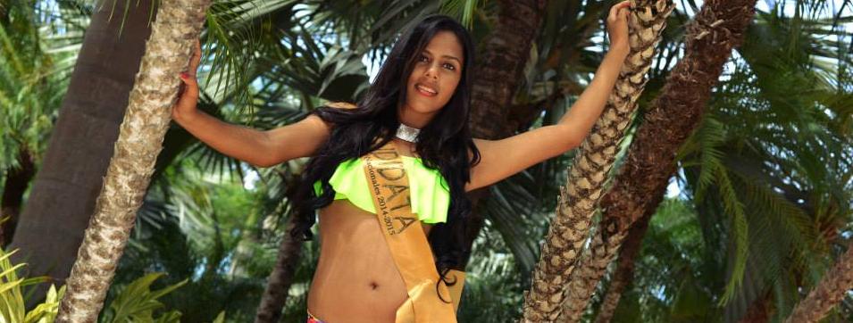 Mariela Guadamuz Sanches Reina de las Fiestas Típicas Nacional Santa Cruz 2015