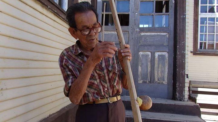 Eulalio Guadamuz quijonguero de Bagaces