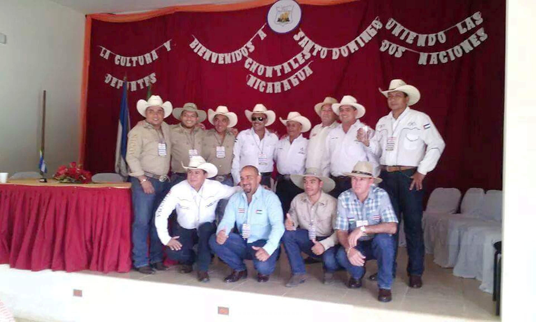 Nicoyanos en Santo Domingo de Chontales Nicargua.