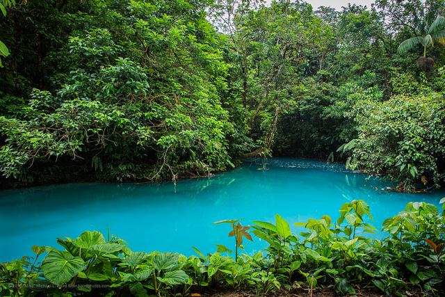 Río Celeste, Alajuela, Guatuso, Costa Rica