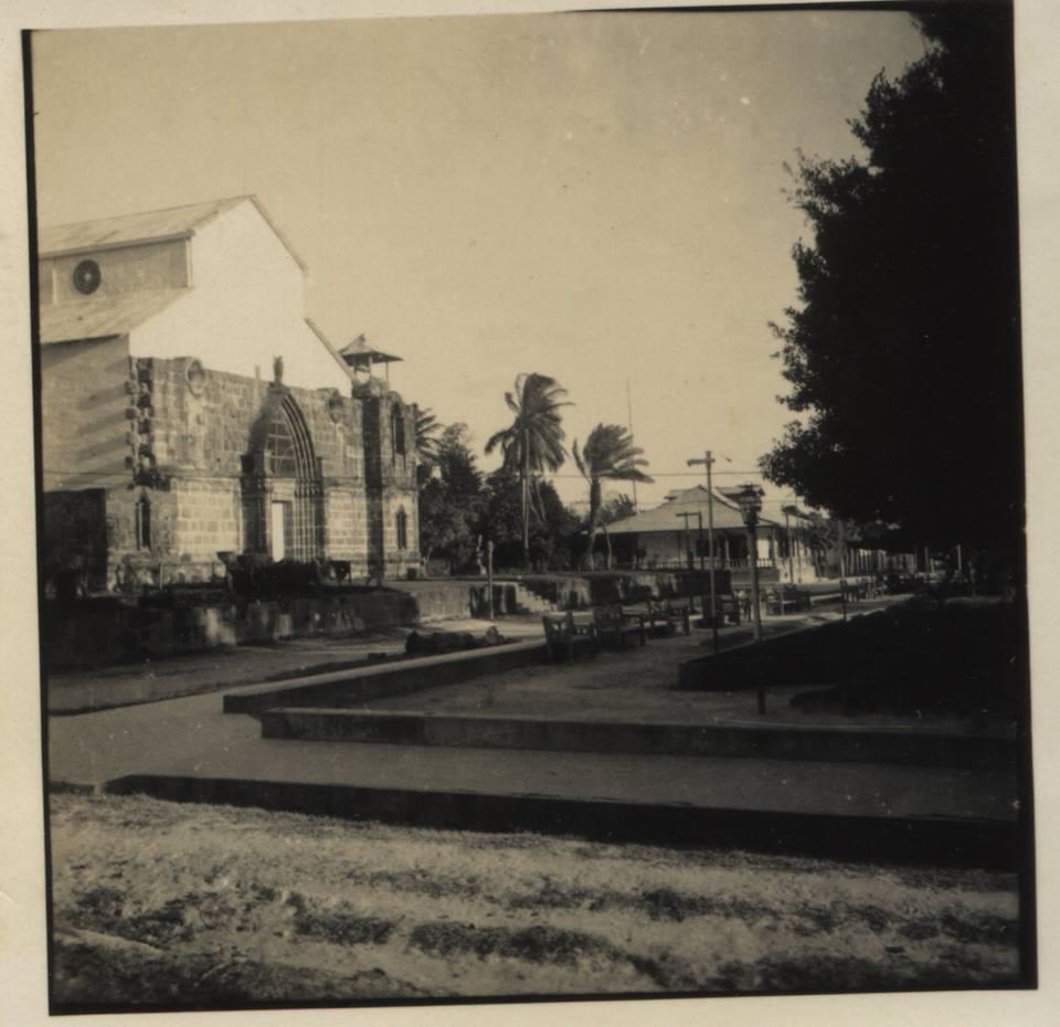Antigua Iglesia de Liberia construida posterior a la Ermita.