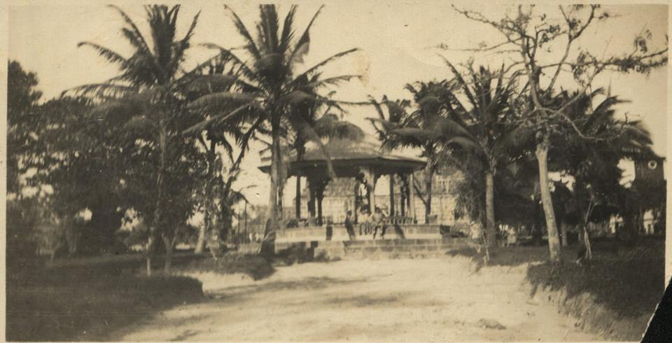 Quiosco del Parque de Liberia.