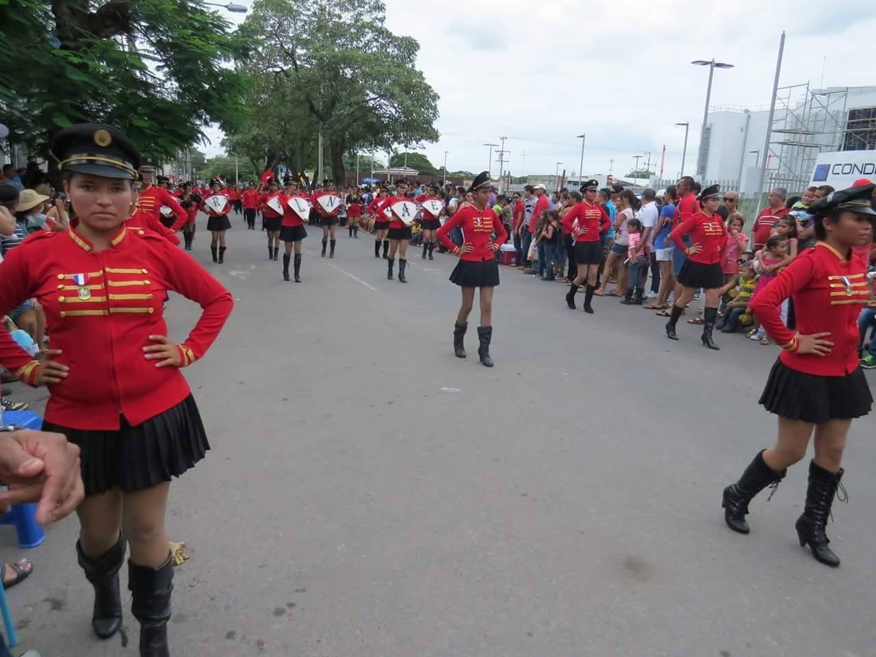 El inicio del desfile será a las 8:00 am