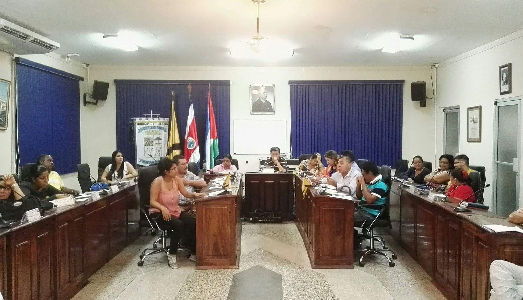 Concejo Municipal, Liberia.